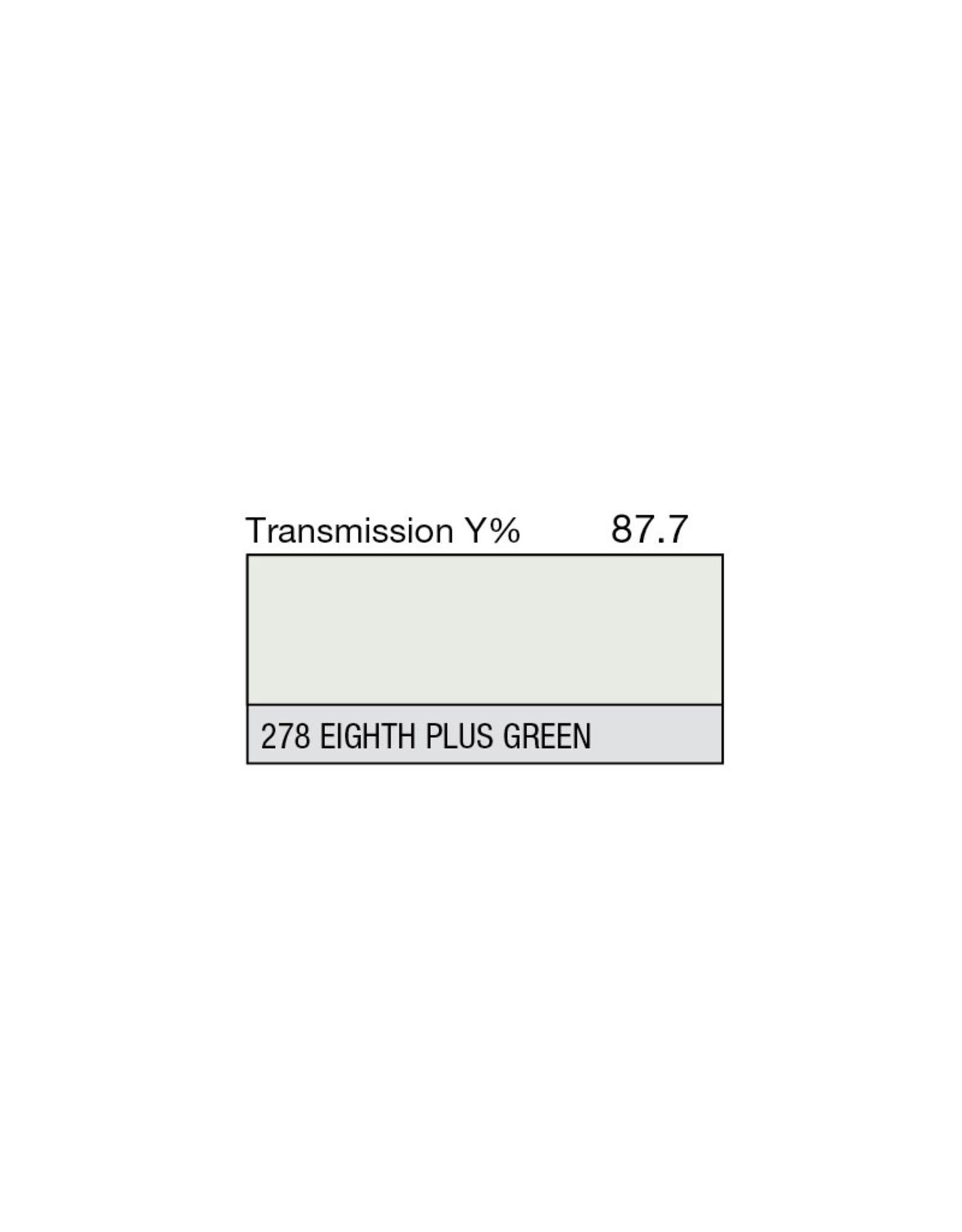"Lee Filters Lee Filters 278 Eight Plus Green 20x24"" sheet"