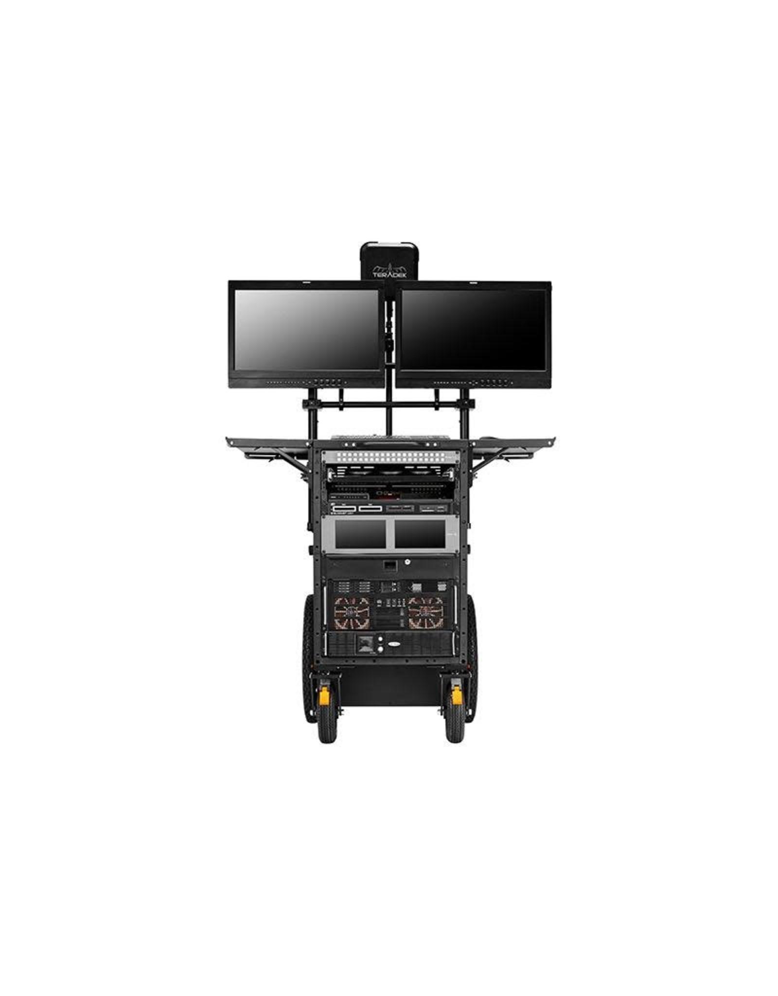 Inovativ Inovativ Deploy Gen IV with Insight Mount and 2 Pro Ultra Monitor Arms