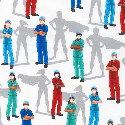 Robert Kaufman Frontline Heroes Nurses White