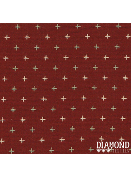 Diamond Textiles Nikko Geo Wine Pluses