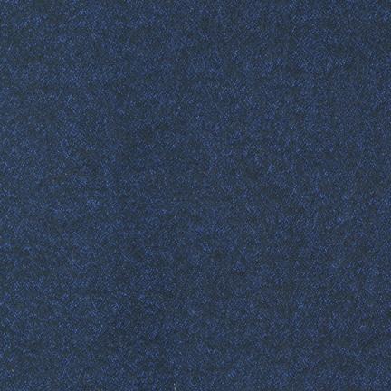 Robert Kaufman Shetland Flannel Navy