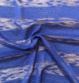Fabric Mart Tetured Stripe Sweater Knit Royal Blue