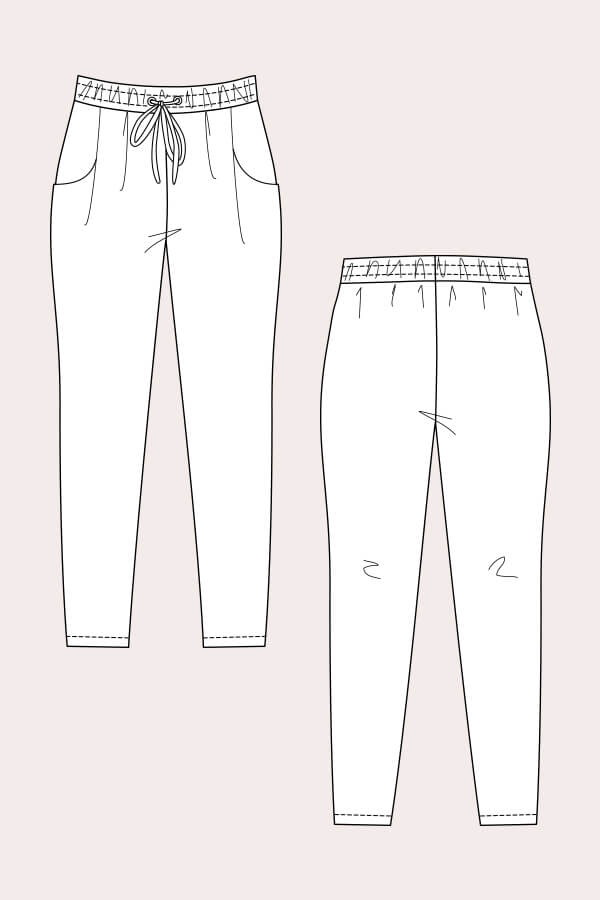 Named Clothing Named Clothing Alexandria Peg Trousers & Track Shorts
