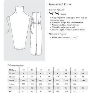 Named Clothing Named Clothing Kielo Wrap Dress