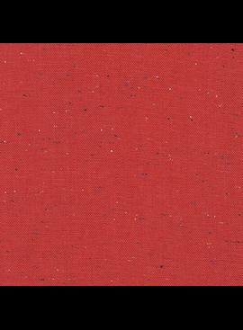 Robert Kaufman Essex Speckle Yarn Dyed Red