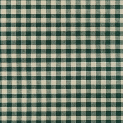 Robert Kaufman Crawford Gingham Large Forest