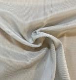 Michael Levine Taupe / White Nylon Stretch Lining
