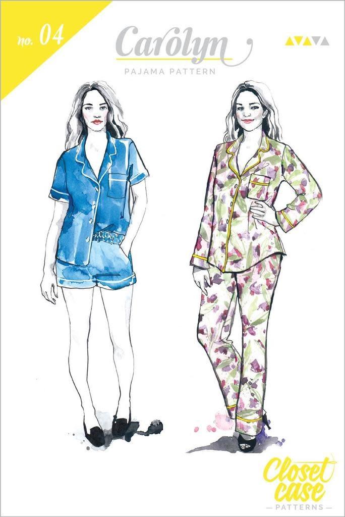 Closet Core Patterns Closet Core Patterns Carolyn Pajamas