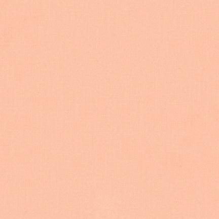 Robert Kaufman Kona Cotton Ice Peach