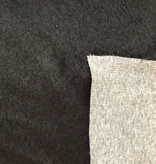S. Rimmon & Co. Faux Mohair Cotton Backed Black Knit