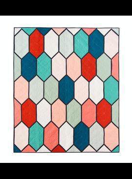 Lo & Behold Stitchery Church Window Pattern by Lo & Behold Stitchery
