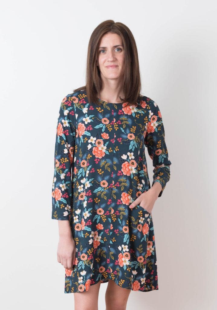 Grainline Patterns Farrow Dress by Grainline Studio