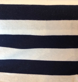 S. Rimmon & Co. Rayon Nautical Stripe Navy / Cream Knit