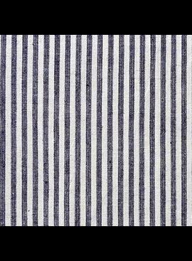 "Pickering International Hemp / Organic Cotton Indigo Stripe 8.5oz—56"" wide"