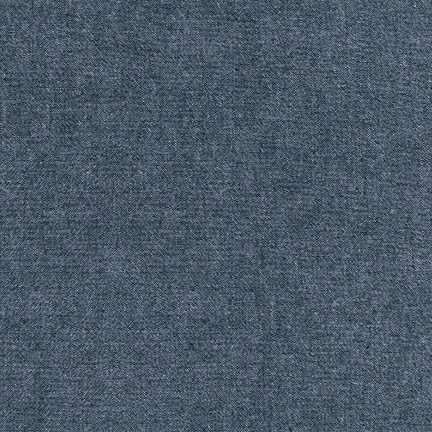 Robert Kaufman Indigo Washed Chambray 4.5 oz