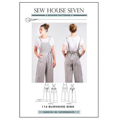 Sew House Seven Sew House Seven Burnside Bibs Pattern