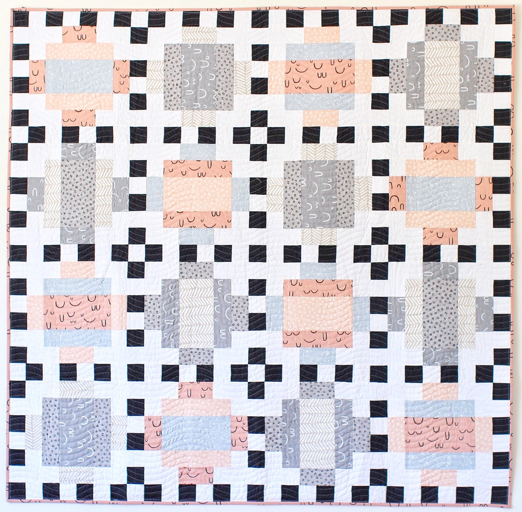 Then Came June: Domino Quilt