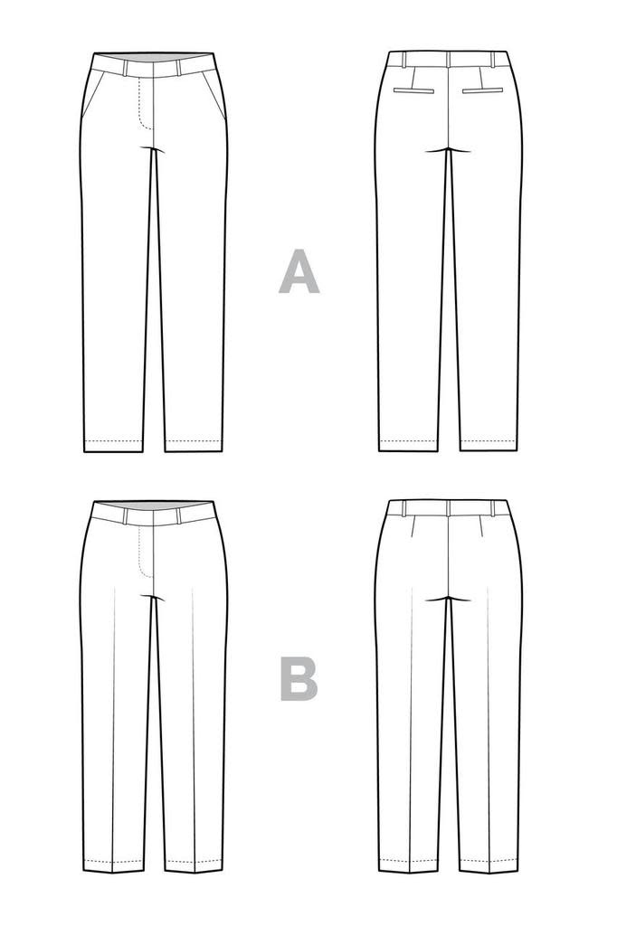 Closet Core Patterns Closet Core Patterns Sasha Trousers