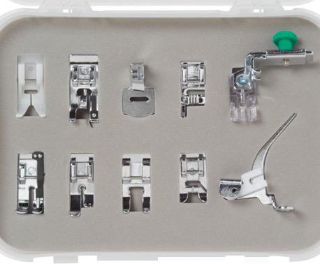 Bernette Presser Feet 10pc Kit (b33/35)