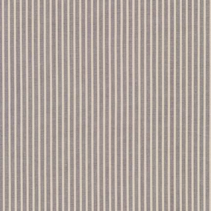 Robert Kaufman Crawford Stripes Grey