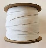 "Conrad Jarvis White Knit Elastic 1/2"" (per yard)"
