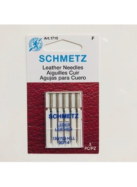 Schmetz Schmetz Leather 5-pk sz14/90