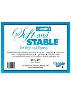 """Annie's Soft and Stable 18"""" x 58"""" White"""