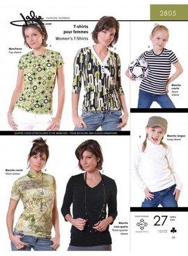 Jalie Jalie Women's T-Shirt Pattern
