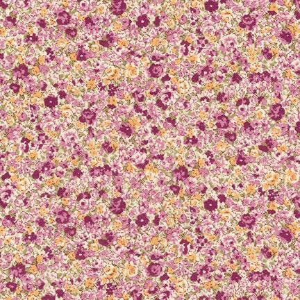 Robert Kaufman Sevenberry Petite Garden Lawn Lilac