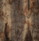 Shannon Fabrics Luxe Cuddle Red Fox Amber Taupe