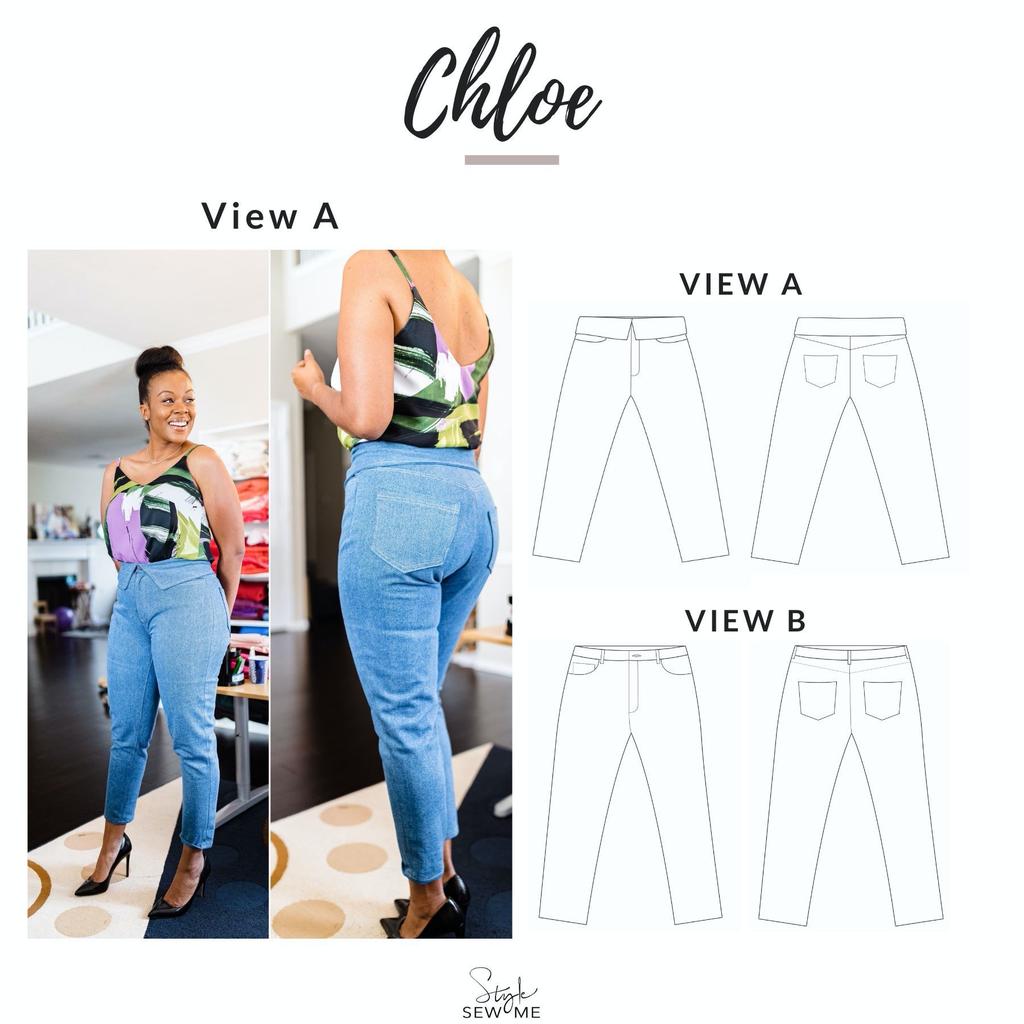Style Sew Me Style Sew Me Chloe Pattern