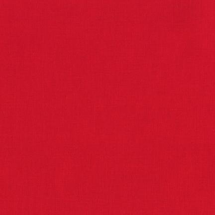 Robert Kaufman Kona Cotton Red