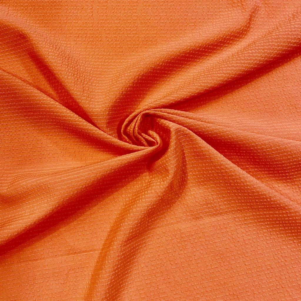 S. Rimmon & Co. Lightweight Salmon Textured Woven