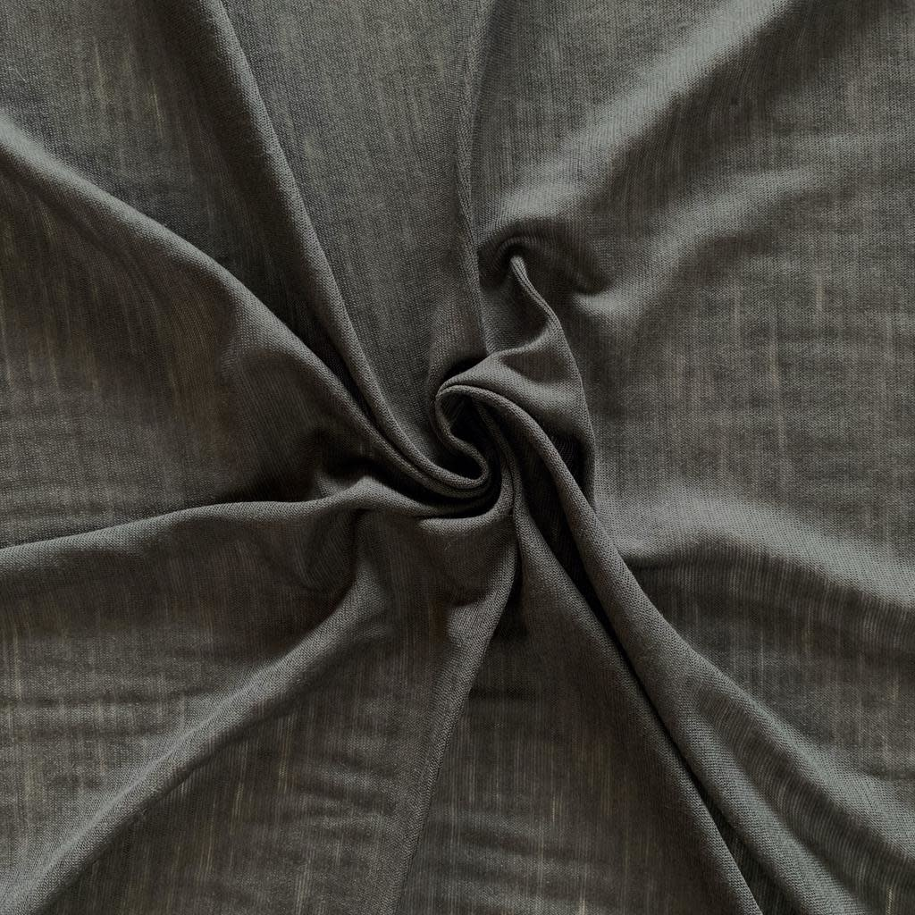 S. Rimmon & Co. Slate Grey Rayon Tissue Knit