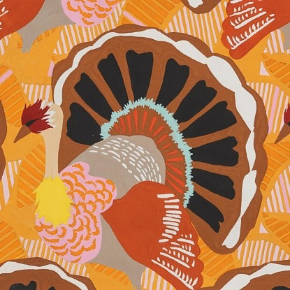 Alexander Henry Turkey Day by Alexander Henry Brown