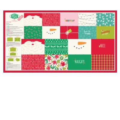 Moda Safety First Holiday Mask Panel