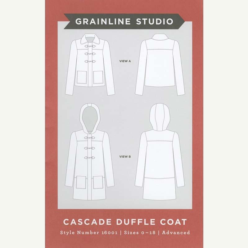 Grainline Studio Cascade Duffle Coat Pattern by Grainline Studio