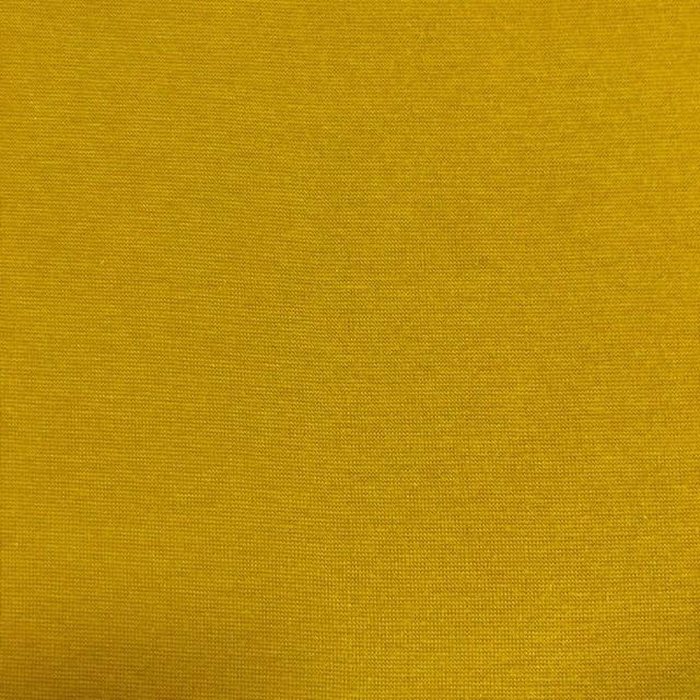 KenDor Bamboo Cotton Stretch 1X1 Rib Knit Nugget Gold