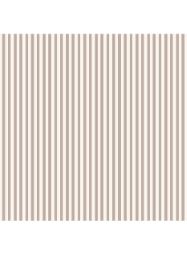 FIGO Serenity Basics Stripes by FIGO Taupe and Cream