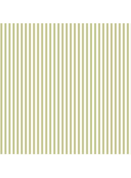 FIGO Serenity Basics Stripes by FIGO Green and Cream