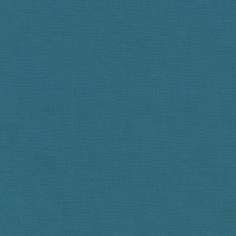 Robert Kaufman Kona Cotton Teal Blue