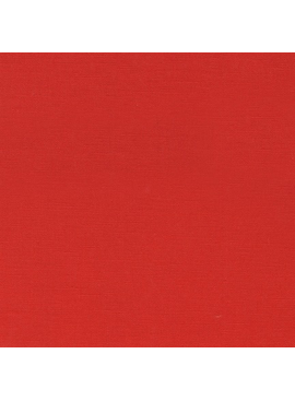 Robert Kaufman Essex Solid Ruby