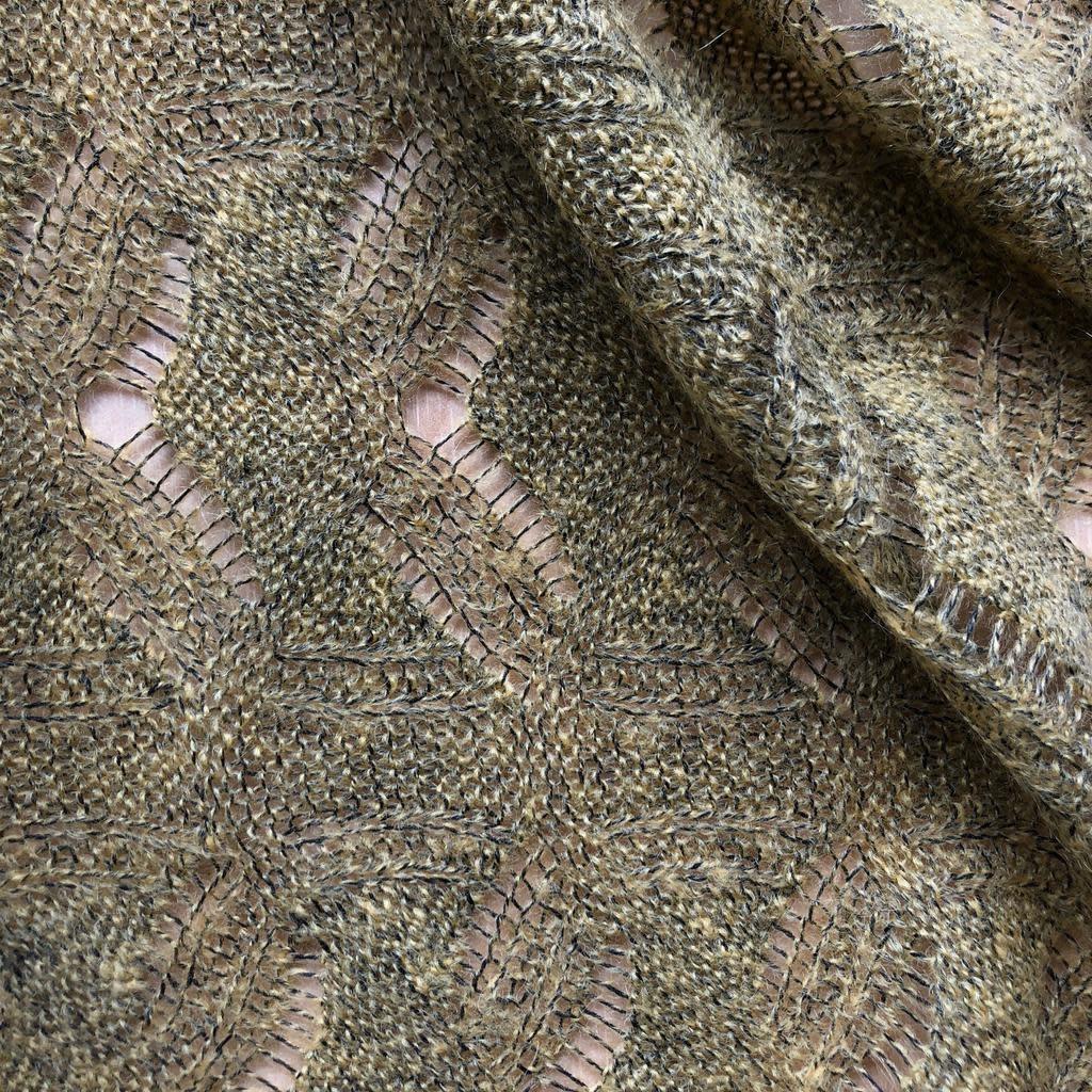 Michael Levine Mustard Sweater Knit