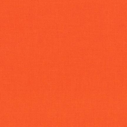 Robert Kaufman Kona Cotton Carrot
