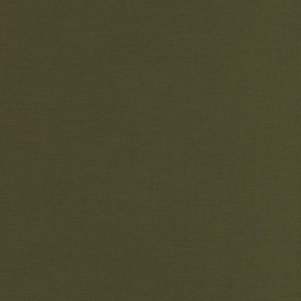 Robert Kaufman Kona Cotton Moss
