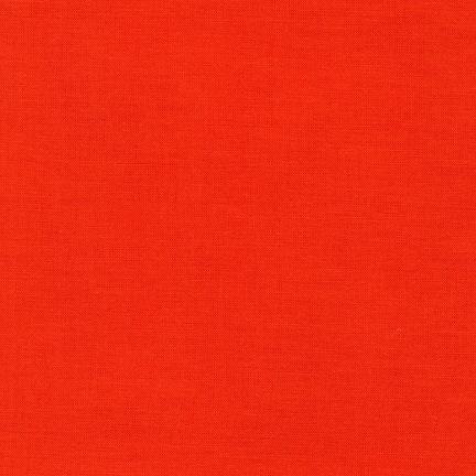 Robert Kaufman Kona Cotton Tangerine