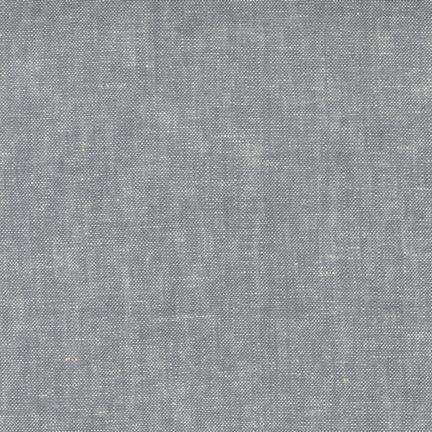 Robert Kaufman Brussels Washer Yarn Dyed Grey