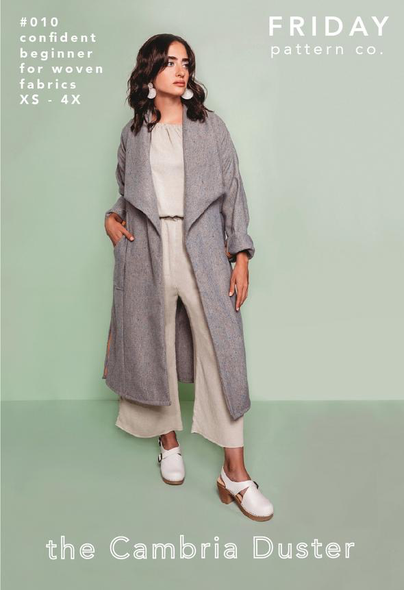Friday Pattern Co. Friday Pattern Co. Cambria Duster