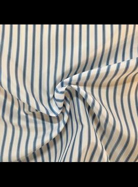 Ralph Lauren Blue / White Striped Acetate Lining