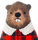 Kiriki Press Kiriki Press Embroidered Doll Kit Beaver